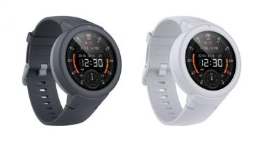 Huami Amazfit Verge Lite Smartwatch Launched in India At Rs 6,999 on Flipkart; Price, Features & Specifications