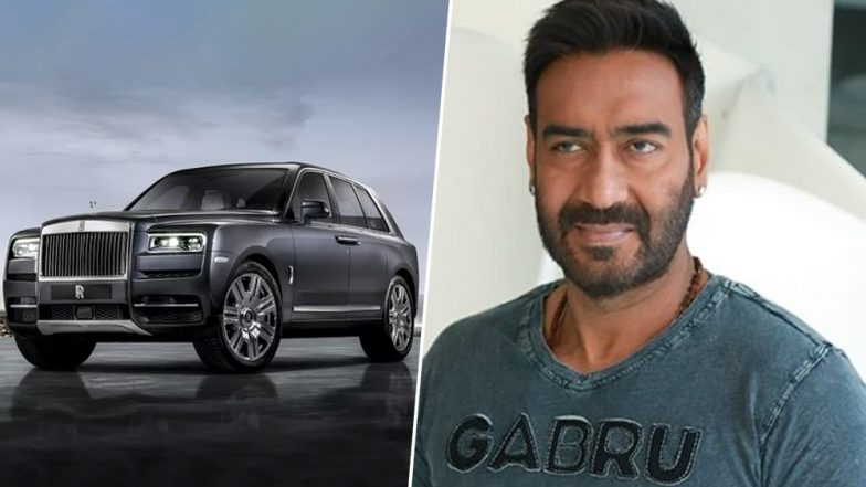 Singham of Bollywood Ajay Devgn Gifts Himself A Brand New Rolls-Royce Cullinan Luxury SUV Worth Rs 6.95 Crore