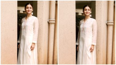 Alia Bhatt Looks Pristine and Pretty Even Standing Next to a Sewage Pipe (See Pics)