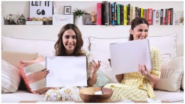 Friendship Day 2019: Alia Bhatt Takes the BFF Test With Akansha Ranjan and It Is a Laugh Riot (Watch Video)