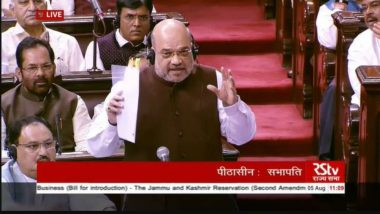 Article 370 Doesn't Link Kashmir With India, Says Union Home Minister Amit Shah