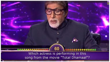 Kaun Banega Crorepati 11: Question about Sonakshi Sinha, Shraddha Kapoor, Nora Fatehi, Sara Ali Khan Costs a Contestant Rs 80,000 on Amitabh Bachchan's Show