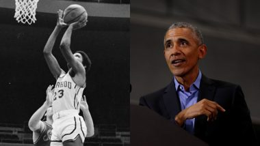 Barack Obama's High School Basketball Jersey Sold for $120,000 in Auction