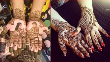 Easy Mehndi Designs and Patterns for Raksha Bandhan 2019 Festival: Simple Mehandi Ideas and Latest Henna Designs for This Rakhi (View Images and Videos)