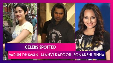 Celebs Spotted: Varun Dhawan, Janhvi Kapoor, John Abraham, Allu Arjun & Others Seen In The City