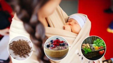 World Breastfeeding Week 2019: Foods to Improve Milk Production in Breastfeeding Moms