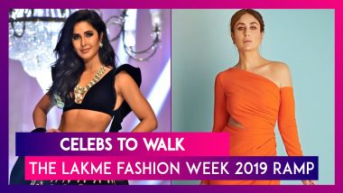 From Kareena Kapoor Khan To Ananya Pandey Here Are Celebs Who Will Walk The LFW 2019 Ramp