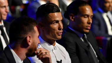 Cristiano Ronaldo Hopes to Have Dinner With Lionel Messi Some Day! Watch Video of Juventus Star at Champions League Draw