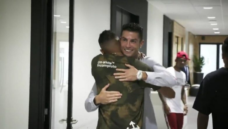Cristiano Ronaldo Welcomes his Former Real Madrid Teammate Danilo Luiz as he Joins Juventus (Watch Video)
