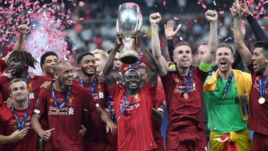 Liverpool Win UEFA Super Cup 2019 Trophy After Beating Chelsea 5-4 on Penalties in Istanbul