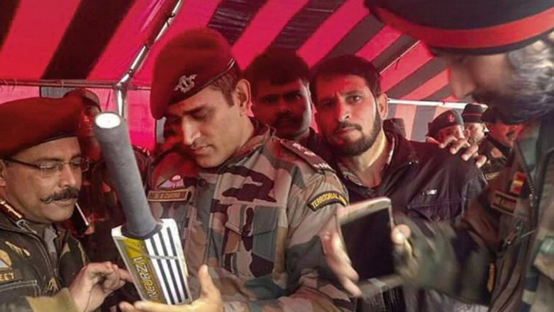 MS Dhoni's Picture from Kashmir Goes Viral As he Joins Indian Army for his Two-Week Stint, See Photo