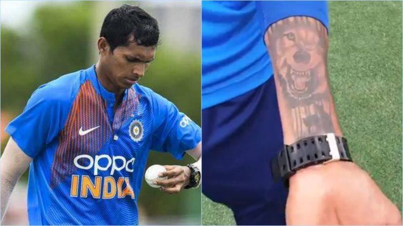 Navdeep Saini's Wolf Tattoo Has an Interesting Story Behind It and Is Linked to the Indian Cricketer's Childhood