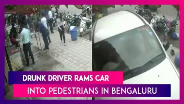 Bengaluru: Drunk Driver Rams Car Into Multiple Pedestrians In HSR Layout, Seven Injured