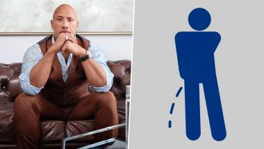 'How Does the Rock Pee?' Hilarious Pun on Dwayne Johnson's Name Will Make You Lose Bladder Control With Laughter (View Tweet)