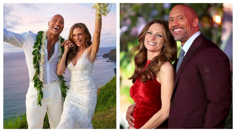 Dwayne Johnson marries longtime bae Lauren Hashian