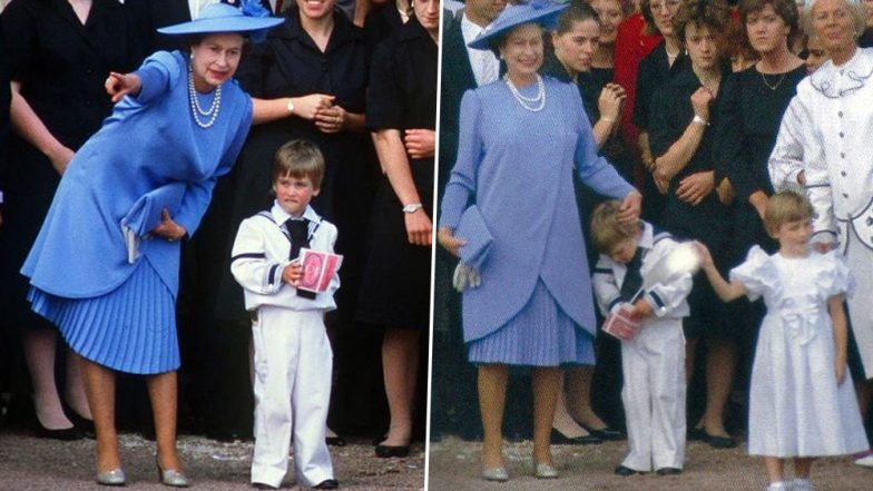 Granny Queen Elizabeth II Running After 4-Year-Old Prince William in an Old Video Goes Viral and Internet Can't Stop Gushing
