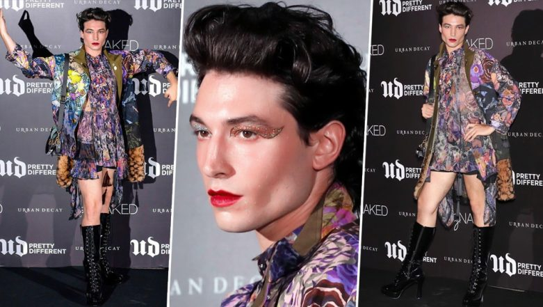Ezra Miller's Minidress at Urban Decay Pretty Different, Seoul Proves Androgyny is the Future
