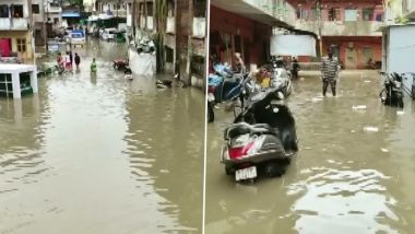 Gujarat Rains: Heavy Showers Lead to Flash Floods in Vadodara, IMD Predicts More Rainfall in Coming Days