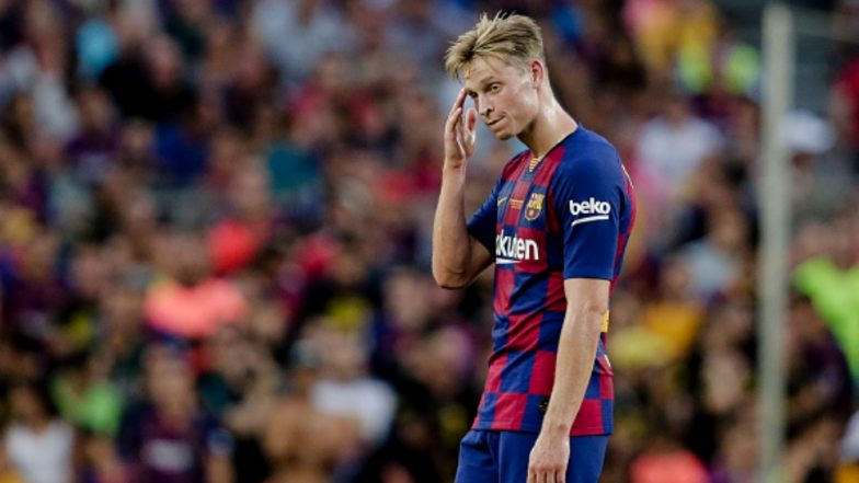 Barcelona's New Recruit Frenkie de Jong is Already Frustrated With His Teammates And This Video is Proof