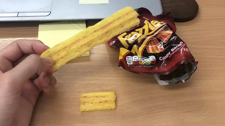 Shopper Finds 'World's Biggest Frazzle' in £1 Packet! Crisps Lovers Are Frazzled As Crazy Pic Go Viral