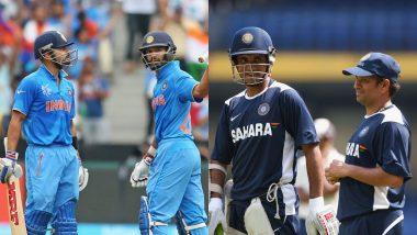 Happy Friendship Day 2019: Virat Kohli-Shikhar Dhawan to Sachin Tendulkar-Sourav Ganguly, 6 All-Time BFFs in Indian Cricket Team's Dressing Room!