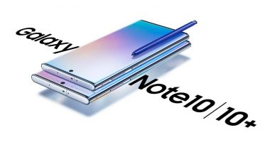 Samsung Note 10+ Top-End Model With 12GB RAM To Cost Rs 89,999 in India: Report
