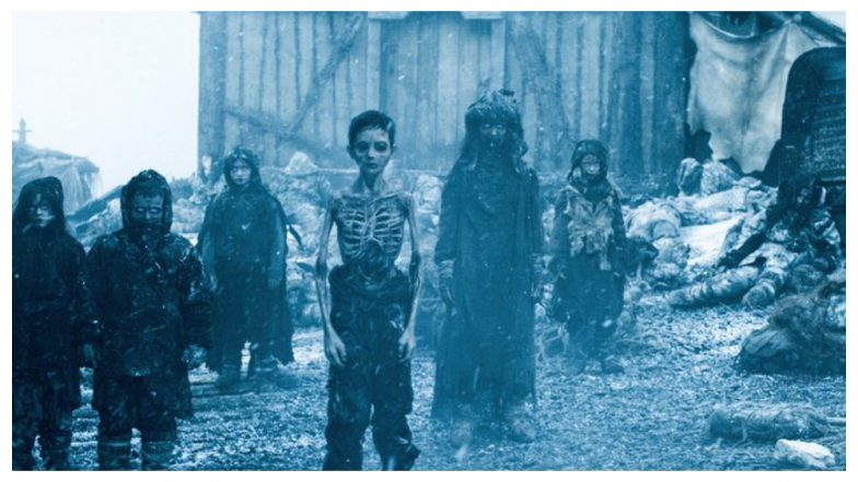 Pic of Game of Thrones' Zombie Children Shared on Social Media as Kids in a Concentration Camp