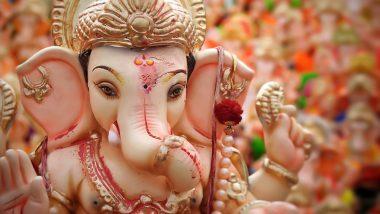 Ganeshotsav 2021 Celebrations: Maharashtra Govt Bans Giant Idols, Mega Public Celebrations During Ganesh Chaturthi Amid Fear of COVID-19 Third Wave
