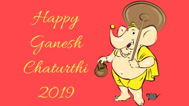 Ganesh Chaturthi 2019: Why is Vinayaka Chaturthi Celebrated? History, Legends and Stories of the Ganpati Festival
