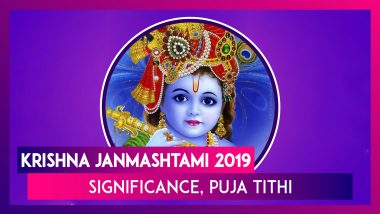Krishna Janmashtami 2019: Date, Significance & Celebrations Associated With Lord Krishna's Birthday