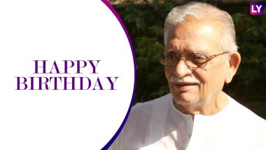 Gulzar Birthday Special: 20 Beautiful Songs That Possess the Magic Flowing From the Maestro's Penmanship! Watch Videos