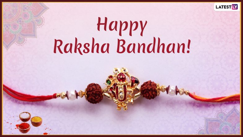 Happy Raksha Bandhan 2019 Wishes in English: Wish Your Brother or Sister on Rakhi With These WhatsApp Messages, Stickers, Quotes And Greetings