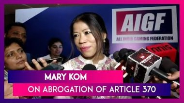 Mary Kom On Article 370: Athlete From J&K Will Get Good Facility From Centre, Will Perform Better