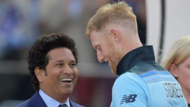 ICC Pokes Fun At Sachin Tendulkar While Praising Ben Stokes; Netizens Lash Out at the Cricketing Body