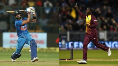India vs West Indies Highlights of 2nd T20I 2019 Match: IND Won by 22 Runs (DLS method)