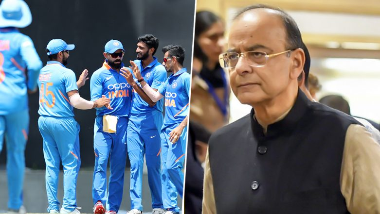 Arun Jaitley Dies: Virat Kohli-Led Indian Team to Wear Black Armbands on Day 3 of IND vs WI Test Match to Condole Ex-DDCA Chief's Demise