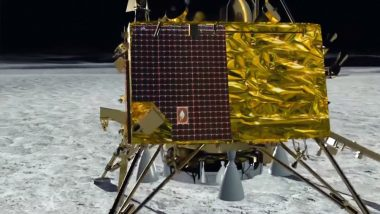 Chandrayaan 2: Vikram Lander Lies Tilted on Moon's Surface, Intact in One Piece, Says ISRO