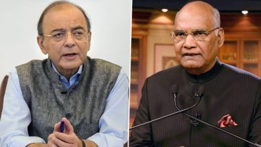 Arun Jaitley Health Update: President Ram Nath Kovind to Visit Ailing BJP Leader at AIIMS Today