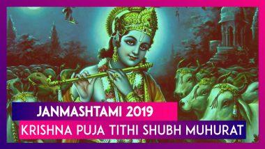 Janmashtami 2019 Puja Vidhi: Know Krishna Puja Tithi, Shubh Muhurat To Observe On Gokulashtami