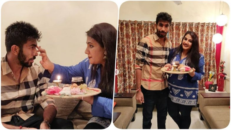 Jasprit Bumrah Celebrates Raksha Bandhan With Sister Juhika in Advance, Thanks Her for Being There For Him in This Adorable Post