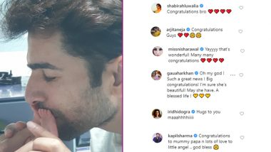 Jay Bhanushali and Mahhi Vij Become Parents to Baby Girl; TV Celebs Pour in Congratulatory Messages for the Couple (View Pic)