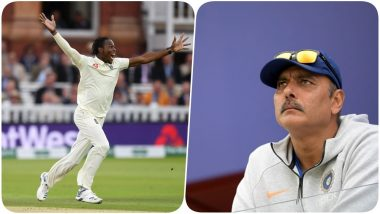 Jofra Archer's Tweet 'Why Ravi' is Trending on Social Media After Ravi Shastri's Re-Appointment as Indian Cricket Team Head Coach!