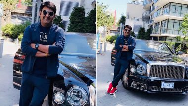 Kapil Sharma Poses With 2019 Bentley Mulsanne Car On Babymoon With Wife Ginni Chatrath! See His Picture With Exotic Wheels