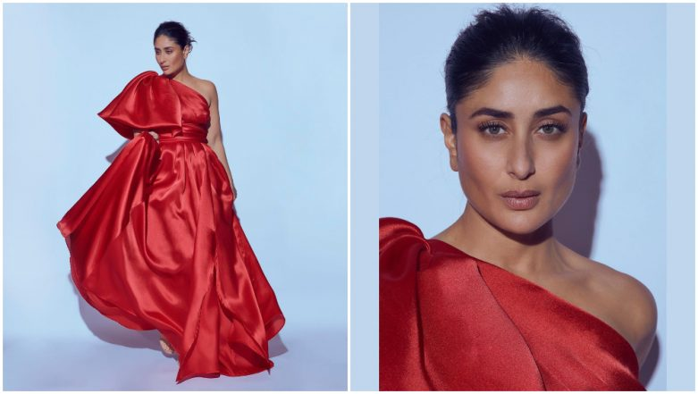 LFW Winter/Festive 2019: Kareena Kapoor Khan Is Looking 'PHAT – Pretty, Hot And Tempting' in This Red Gown (See Pics)