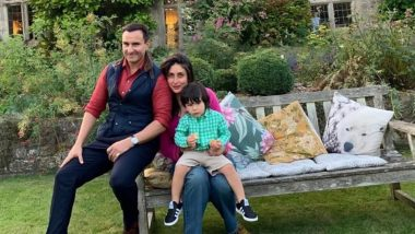 Saif Ali Khan's Clean Shaven Look Steals the Thunder from his Family Picture with Kareena Kapoor Khan and Taimur