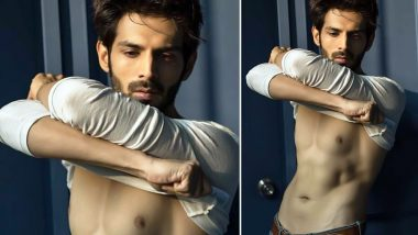 Kartik Aaryan is the Hottest 'Vegetarian Ladka' You Will See Today as He Flaunts His Perfectly Chiselled Body in This New Picture