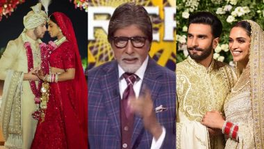 Kaun Banega Crorepati 11: Priyanka Chopra-Nick Jonas or Deepika Padukone-Ranveer Singh; Who Got Married the Latest, Asks Amitabh Bachchan to a Contestant
