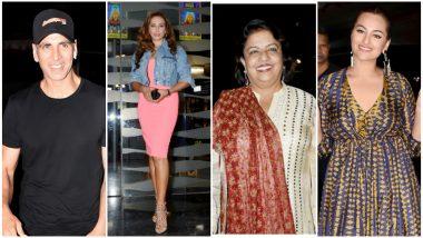 Khandaani Shafakhana Screening: Akshay Kumar, Iulia Vantur, Madhu Chopra Come Out to Support Sonakshi Sinha's Film (See Pics)