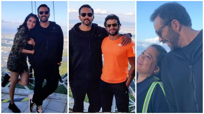 Khatron Ke Khiladi 10 Contestants Karan Patel, Bharti Singh, Karishma Tanna, Have Their Star-Struck Moments With Host Rohit Shetty! (View Pics)