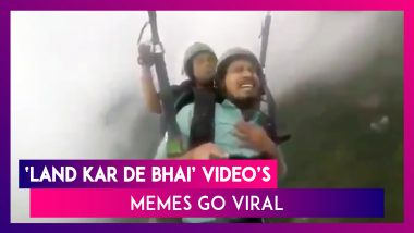 Paragliding Memes Of 'Land Kara De Bas' Viral Video Are Taking The Internet By Storm